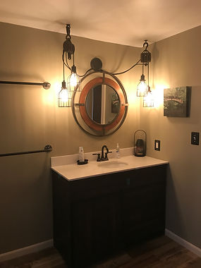 Bathroom, sink, rustic, handmade, refresh,