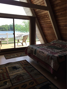 Master Bedroom, Magician Lake, sleep, balcony