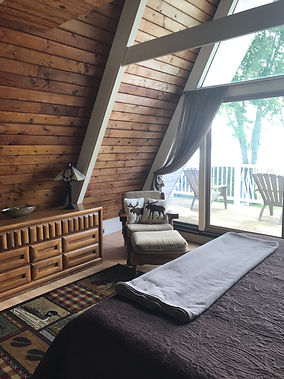 bedroom, sleep, balcony, rest, lakefront,