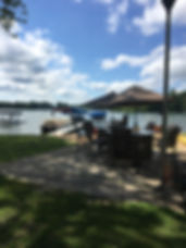 Lake, bar, beach, lakefront, view,