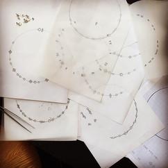 Lucky me. Diamond necklace designs today