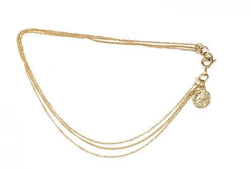 Triple Layer Bracelet (fine)