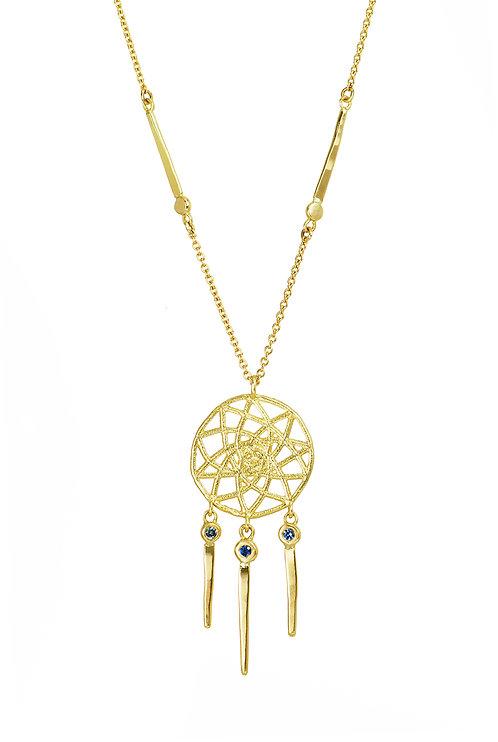 Dreamcatcher Sapphire Necklace