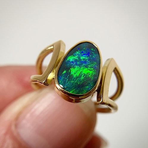 Opal Embrace Ring