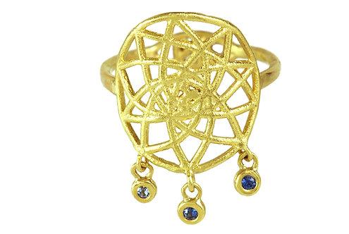 Dreamcatcher Sapphire Ring