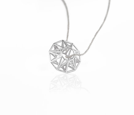 Liberty Bead Pendant - silver