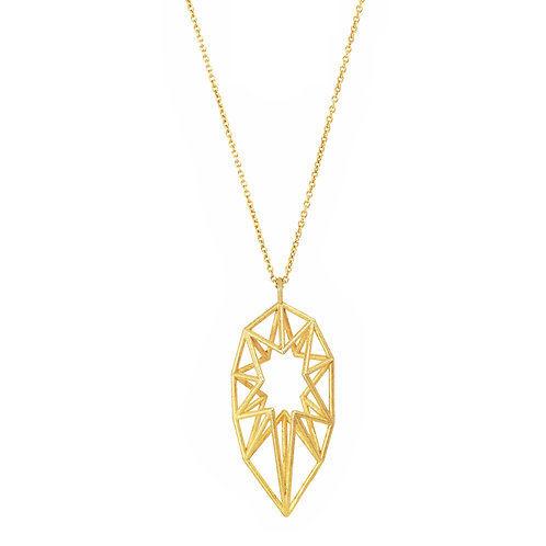 Pointed Star Pendant - gold-plated