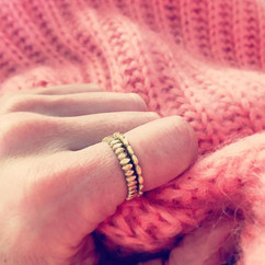 Little rings. Big jumper._._These are 18