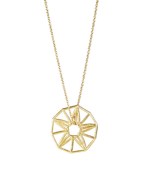 Lucky Star Pendant - gold-plated