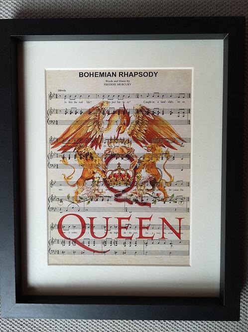 Fabulous Framed Music Prints