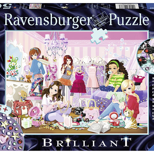 "Ravensburger Brilliant Пазл на 500 элементов  "" Модницы"""
