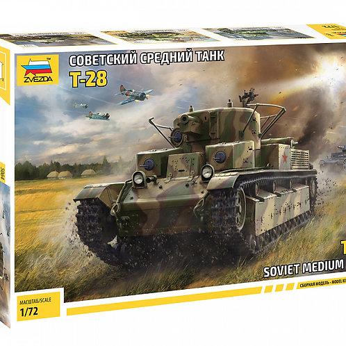 """Сборная модель танка """"Т-28"""""""