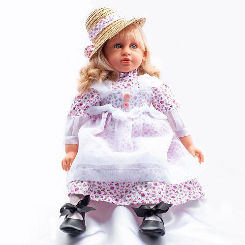 Мягконабивная кукла Абриль