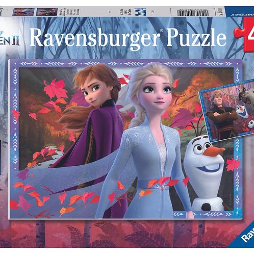 """Ravensburger Пазл 2x24  Холодное сердце """"Морозные приключения"""""""