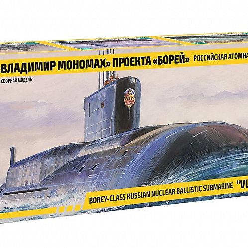 """Сборная модель подводной лодки """"Владимир Мономах"""""""