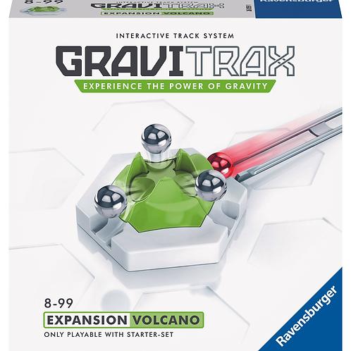 """GraviTrax - система интерактивных треков. Дополнение """"Вулкан""""."""