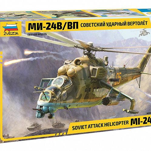 """Сборная модель вертолёта """"МИ-24В/ВП"""""""