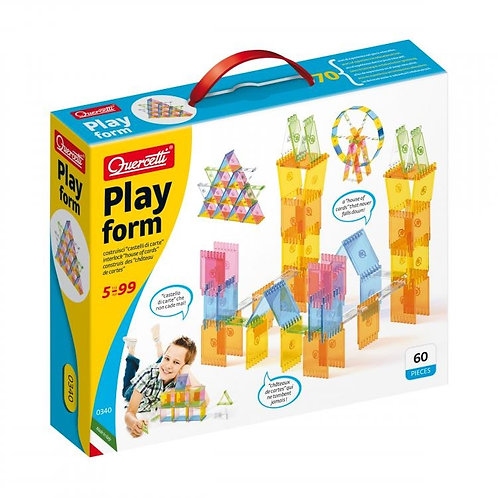 "Quercetti Конструктор "" Play form """