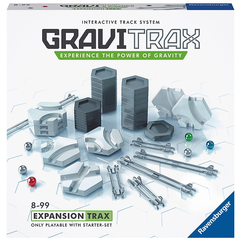 """GraviTrax - система интерактивных треков. Дополнение """"Трасса""""."""