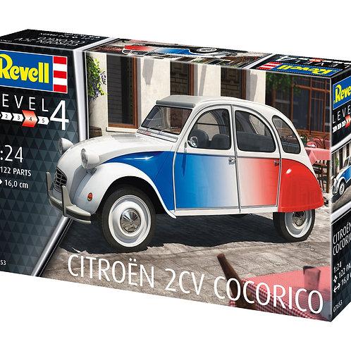 """Сборная модель автомобиля """"Citroën 2CV Cocorico"""""""