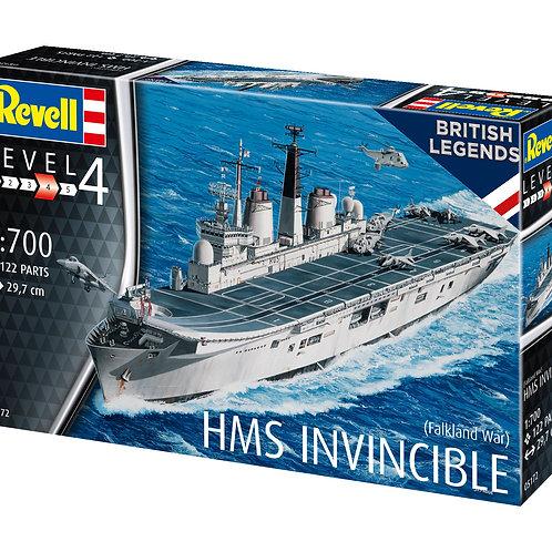 """Сборная модель военного корабля """"HMS Invincible"""""""