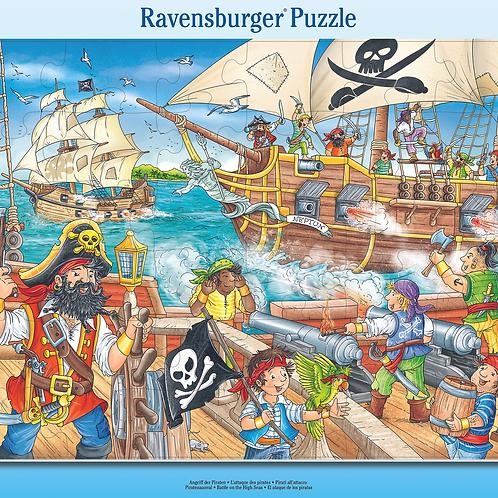 Ravensburger Пазл в рамочке  Битва в открытом море