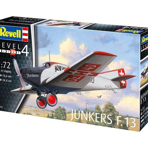 "Сборная модель самолёта ""Junkers F. 13"""