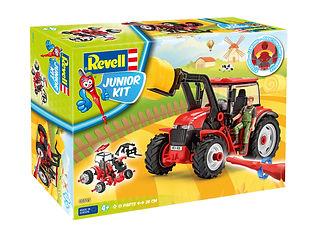 00815_#K#P#W_Traktor_mit_Lader_und_Figur
