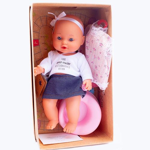 Виниловая кукла с аксессуарами