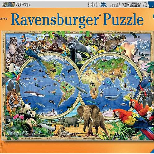 Ravensburger Пазл на 300 элементов  Мир дикой природы