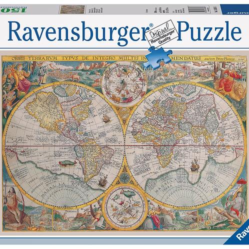 Карта мира 1594