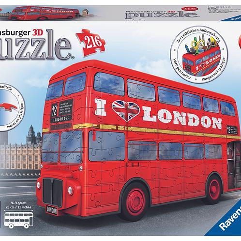 3D Пазл. Лондонский автобус