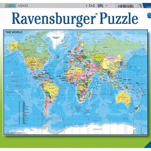 Ravensburger Пазл на 200 элементов Карта мира
