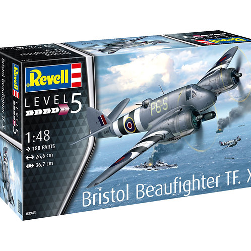 "Сборная модель бомбардировщика ""Bristol Beaufighter TF. X"""