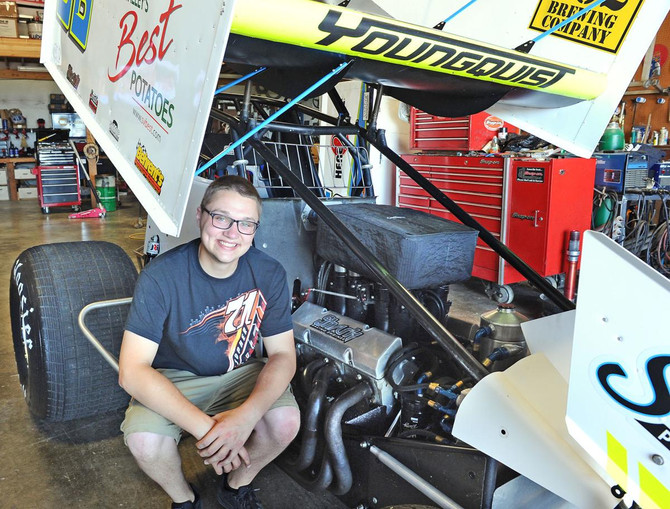 Racing Again: After Injury, Youngquist Back at Speedway