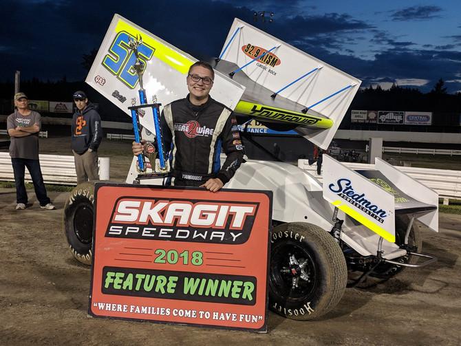 Youngquist Thrills in Return to Skagit Speedway