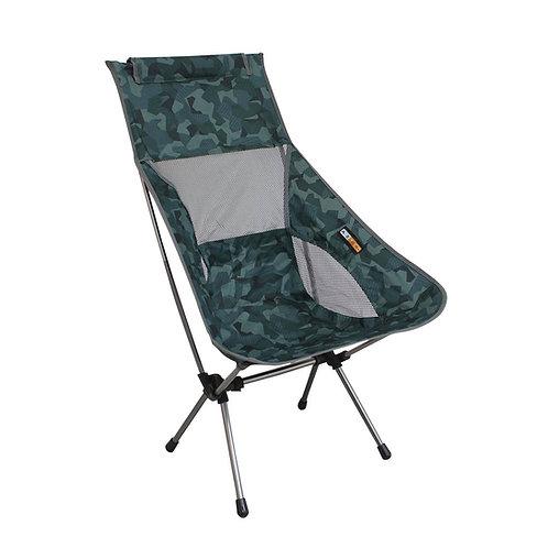 Cadeira Kamel Azteq de fácil montagem e estrutura de alumínio