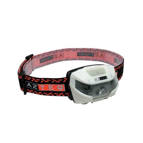 Lanterna de cabeça Magik Azteq de 120 lúmens recarregável com sensor