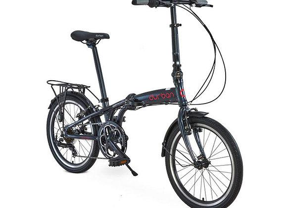 """Bicicleta dobrável Durban aro 20"""" de 6 velocidades Sampa Pro"""