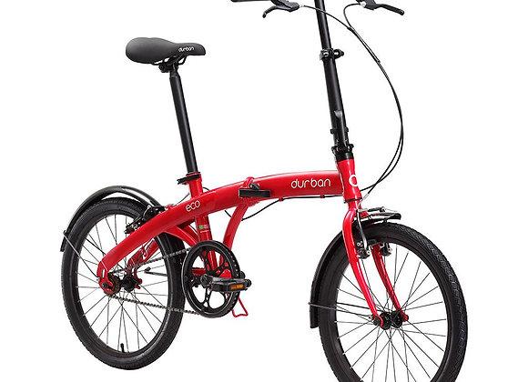 """Bicicleta dobrável Durban aro 20"""" e quadro de aço Eco"""