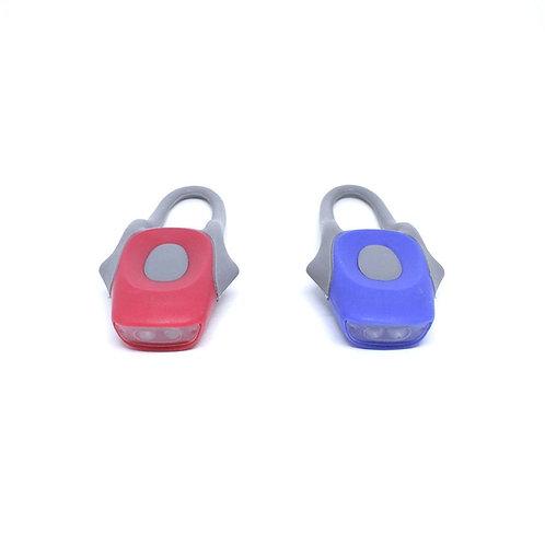 Lanterna para bike Alert Azteq de 12 lúmens com cabo flexível