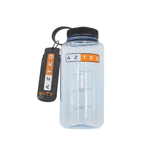 Garrafa Naty de 1 litro Azteq fabricada em material resistente e livre de BPA