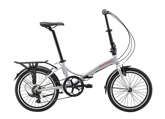 """Bicicleta dobrável Durban aro 20"""" de 6 velocidades Rio"""