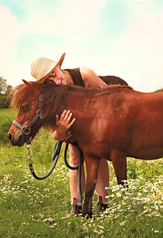 Ginger - Equine Assisted Learning Teacher - Equineimity