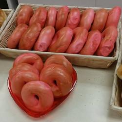 St. Valentines Day Bagels