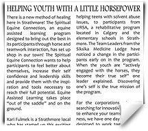 Youth School Programs Dawson Creek
