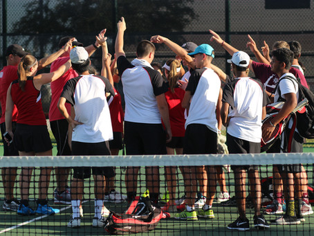Varsity Tennis Season comes to an End