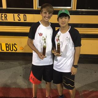 JV Tennis Success Thursday at Westwood
