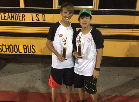 JV Tennis Success Thursday at Westwood