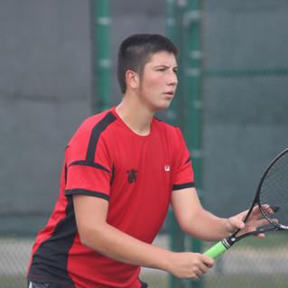 The Varsity tennis season has begun!